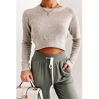 Reaching For You Knitted Sweater (Oatmeal)