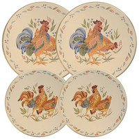 Corelle Coordinated Burner Covers, Country Morning