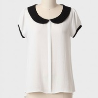 Happy Go Lucky Collared Blouse