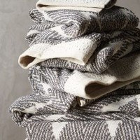 Woven Chevron Towel Collection by Anthropologie