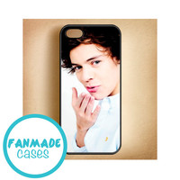 Harry Styles kiss iPhone 4/4s 5/5s/5c & iPod 4/5 Rubber Case