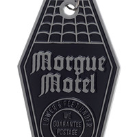 SOURPUSS MORGUE MOTEL KEYCHAIN