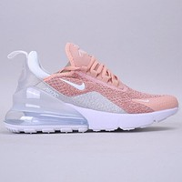 NIKE Max 270 Fashion New Hook Sports Leisure Running Shoes Women