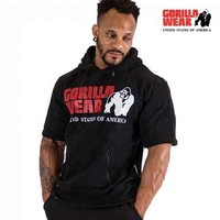 Gorilla Wear Boston Short Sleeve Hoodie
