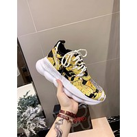 Versace Chain Reaction Sneakers #dsr112