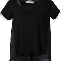 Sacai Luck basic T-shirt