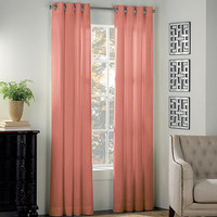 Newport Grommet Window Curtain Panels