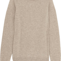 Chinti and Parker - Contrast-cuff cashmere sweater