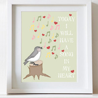 Song in My Heart, Nursery Art