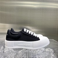 Alexander McQueen Casual canvas shoes-3