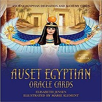 Auset Egyptian Oracle Cards: Ancient Egyptian Divination and Alchemy Cards (Rockpool Or