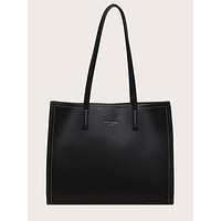 Minimalist Double Handle Tote Bag