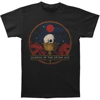Queens Of The Stone Age Men's  Chalice Mens Soft T Slim Fit T-shirt Vintage