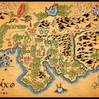 Johto Map Art Print by MeleeNinja