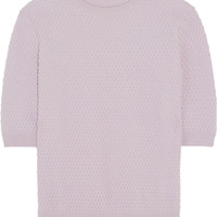 Carven - Honeycomb wool-blend sweater
