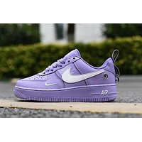 Air Force 1 07 LV8 Utility Purple White Low
