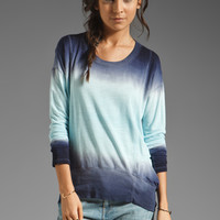 Young, Fabulous & Broke Sansa Sweater in Navy Double Ombre from REVOLVEclothing.com