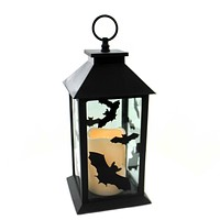 Halloween HALLOWEEN BAT LANTERN Metal Lighted 6002883