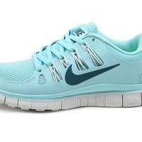 Free run 5.0 v2 running shoes sky blue by Country Fashion
