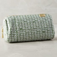 Kestrel Moonbeam Cosmetic Case in Green Size: One Size Accessories