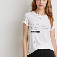 Oscar Wilde Distressed Tee