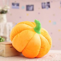 1pc 18cm Halloween Pumpkin Plush Toy Soft Kawaii Cute Pumpkin Stuffed Plush Toys Baby Toy Kid Toys Home Decoration