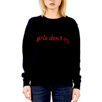 GIRLCRY Embroidered Sweatshirt