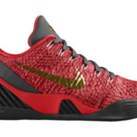 Nike Kobe 9 Elite Low iD Custom Basketball Shoes - Red