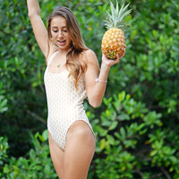 KAHANA One Piece Bathing Suit : Create Your Own Moderate Coverage
