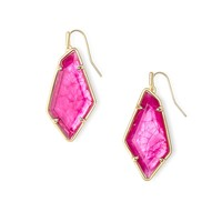 Kendra Scott - Emmie Gold Earrings in Azalea Illusion