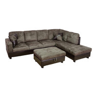 Della Sectional by Beverly Fine Furniture