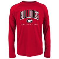 Georgia Bulldogs Performance Tee - Boys 4-7, Size: