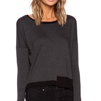 Feel the Piece Palmer Sweater in Charcoal