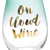 Slant Collection 'On Cloud Wine' Stemless Wine Glass | Nordstrom