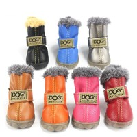 Cotton Anti Slip Dog Shoes