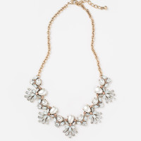 Loraine Crystal Pearl Necklace