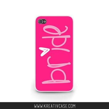 Bride iPhone Case for iPhone 5, 5S, 5C, Bride to Be Phone Case, iPhone Cover, Engagement Gift, also for Samsung and Blackberry - K281