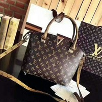 ONETOW Day-First? LV Metal V Leather Tote Crossbody Satchel Shoulder Bag H-AGG-CZDL