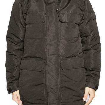 Guys Down Filled Parka With Fur Hood