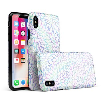 Iridescent Dahlia v2 - iPhone X Swappable Hybrid Case