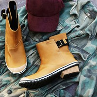 Free People Slimboot Pull-On Weather Boot