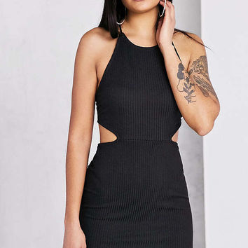 Silence + Noise Cutout Strappy Back Bodycon Mini Dress | Urban Outfitters