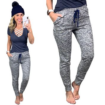 Basic Multi Joggers - Navy