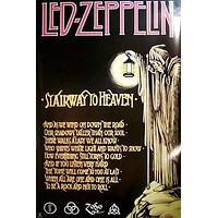 Led Zeppelin Stairway to Heaven XL Giant Poster 40x60