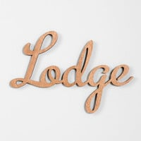 Three Potato Four Lodge Wall Art - Urban Outfitters