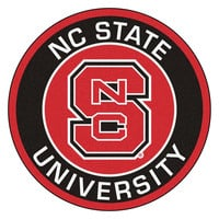 North Carolina State Wolfpack NCAA Rounded Floor Mat (29in)