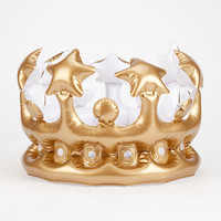 NPW King For the Day Inflatable Crown | Toys & Novelties
