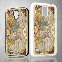 ACCURATE MAP OF THE WORLD V0691 Samsung Galaxy S3 S4 S5 (Mini) S6 S6 Edge,Note 2 3 4, HTC One S X M7 M8 M9 Cases