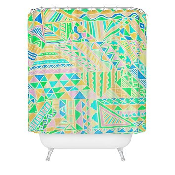 Lisa Argyropoulos Wild One Two Shower Curtain
