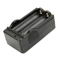 TangsFire 18650 Battery Charger (US Standard) Black